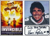 Autographed Vince Papale Photo